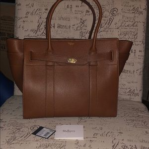 Used for 1 week Mulberry Zipped Bayswater in Oak
